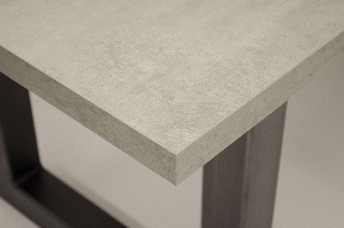 Tafel betonlook mattone scuro gratis thuisbezorgd tavolo enzo