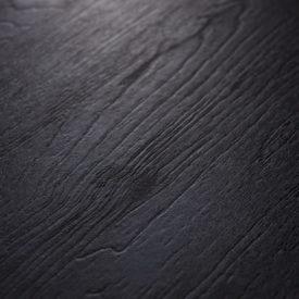 tafel-blad-zwart-nero ruvido-hout structuur-eiken-Tavolo enzo