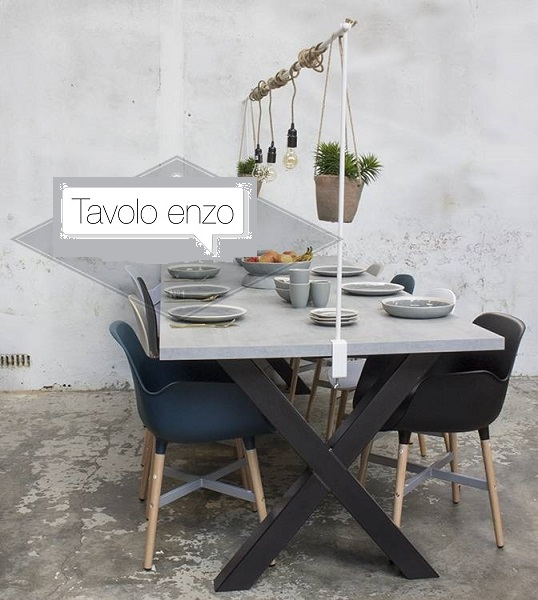 Tavolo enzo tafels eettafelbankjes en salontafels zelf for Tafel samenstellen