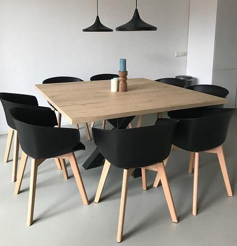 Kunststof tafelbladen die niet van echt te onderscheiden zijn