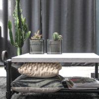 salontafel – beton- mattone scuro – steigerbuizen – zwart – industriale-Tavolo enzo-homepage