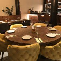 tafel – rond – roest – Ruggine – Tavolo enzo