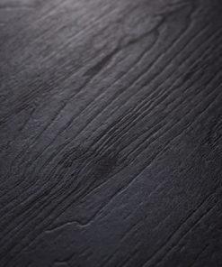 Tafels zwart hout look / Nero ruvido