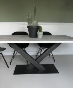 Wonderbaar Tavolo enzo | Industriële meubels van betonlook of eikenlook JO-81