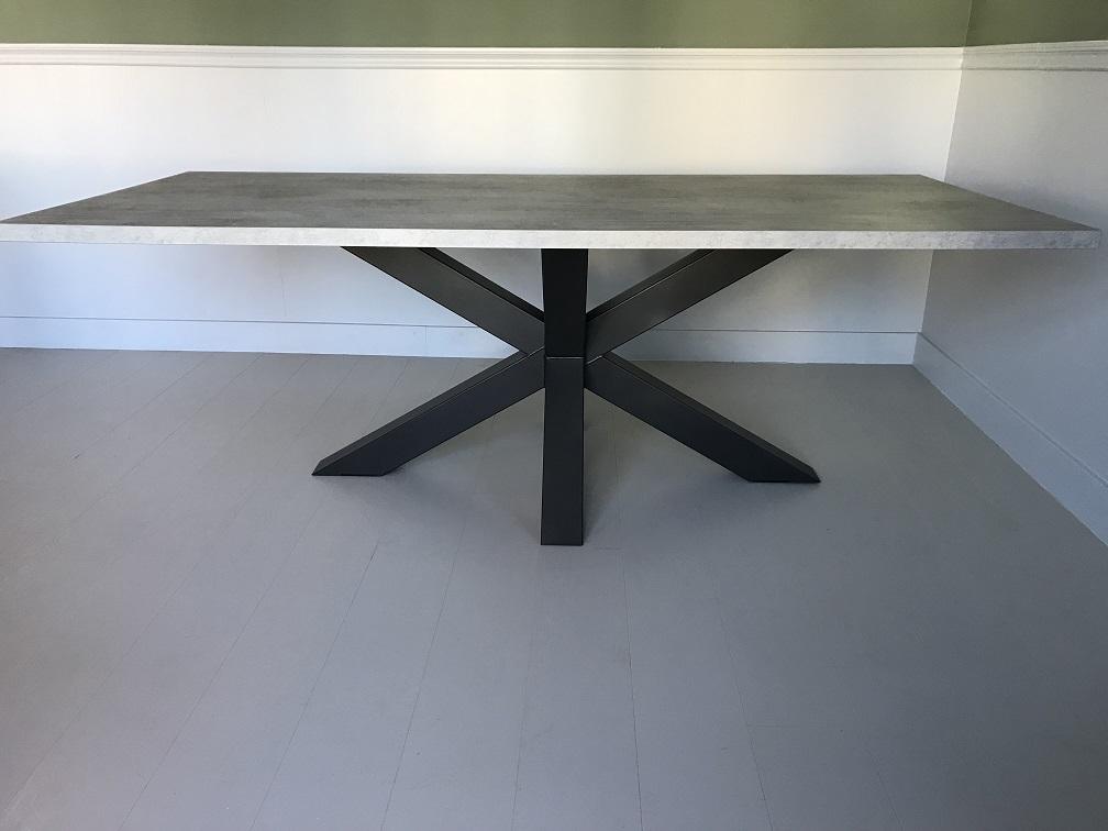 Zeer betonlook tafel maken ouc agneswamu